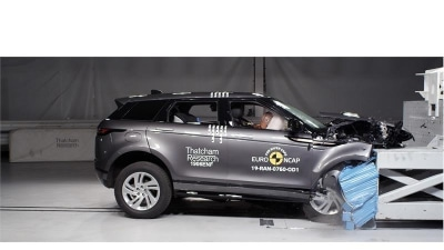 New Evoque Gets Top Marks For Safety