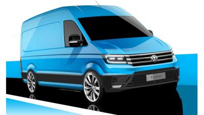 Volkswagen Readies 2017 Crafter Van For September Debut