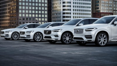 Volvo Flicks The Switch - All Models To Have Electric Motors From 2019