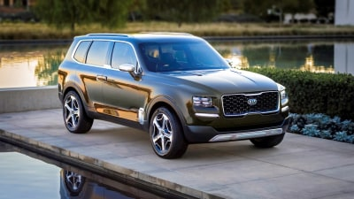 Supersized Kia Telluride SUV Gets Green-Light, Australia Keen