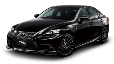 Lexus Adds TRD Handling And Styling Kit To 2014 IS Sedan