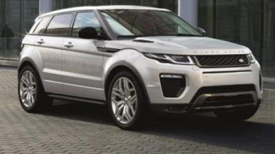 New Range Rover Evoque Australian pricing revealed