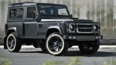 Kahn Presents The Flying Huntsman 105 Longnose Land Rover Defender