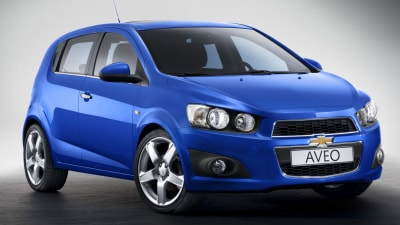 2011 Holden Barina Revealed As Chevrolet Aveo