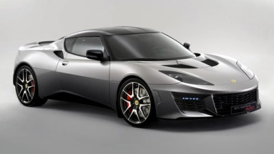 Lotus Evora 400 Revealed: More Power, More 'Lightness'