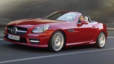 2012 Mercedes-Benz SLK In Australia For Q2 2011