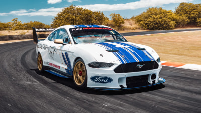 Revealed: Ford Mustang Supercar