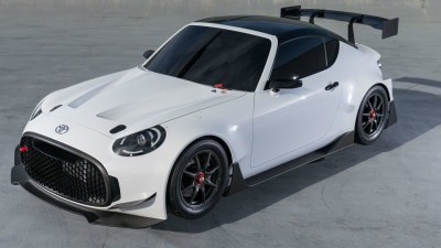 Toyota S-FR Racing Concept Revealed For Tokyo Auto Salon