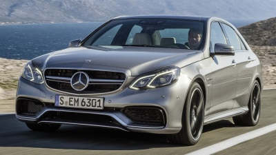 2014 Mercedes-Benz E 63 AMG Unveiled At Detroit Auto Show