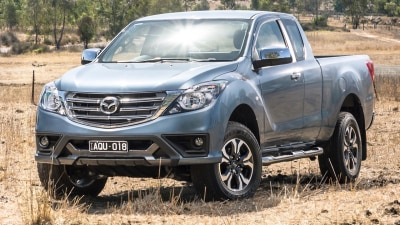 Mazda reveals BT-50 update