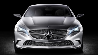 2012 Mercedes-Benz A-Class Concept Revealed: Video