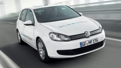 Volkswagen Golf Blue-e-Motion EV Revealed