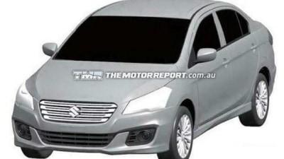 Suzuki Authentics Sedan Revealed In Patent Renderings