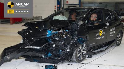 ANCAP: New HiAce, Nissan Leaf get 5-star crash safety ratings