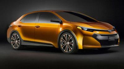 Toyota Furia Concept Teases Next Corolla Sedan For North America