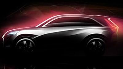 Honda Vision XS-1 Crossover Concept Bound For Delhi Auto Expo