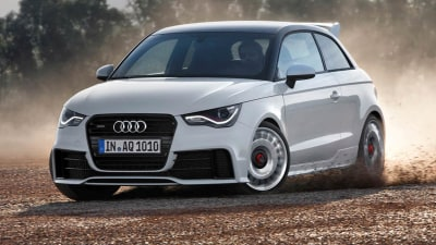 Ballistic Audi A1 Quattro Revealed, Aussies Out Of Luck