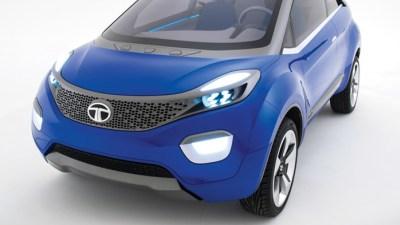 Tata Unveils Nexon Crossover Concept At Delhi Auto Expo