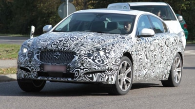 2012 Jaguar XF Update Spied, XJ Style In The Works