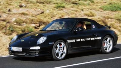 Porsche 911 Hybrid Test Mule Spied?