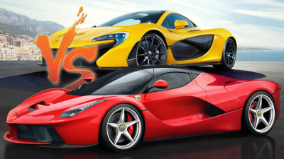 LaFerrari Versus McLaren P1: Hypercar Comparo By The Numbers