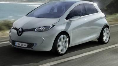 Renault ZOE Electric Vehicle Revealed