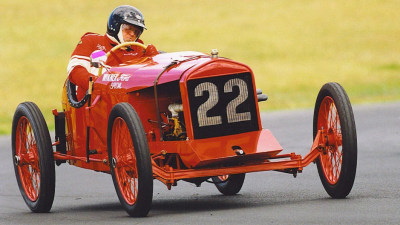 The tale of Australia's oldest racing car