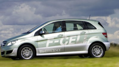 Production Mercedes-Benz B-Class F-Cell Unveiled