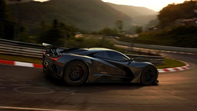 Start-up car brand Elation previews its 1400kW electric hyper car