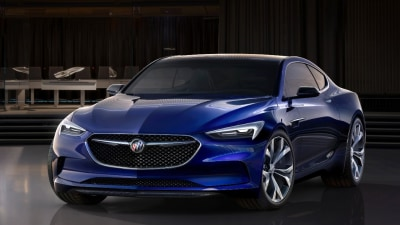 Buick Avista Could See Production Run As Four-Door Coupe - Report