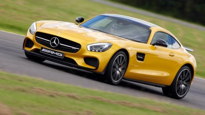 Mercedes-AMG GT Recalled Over Passenger Airbag Issue