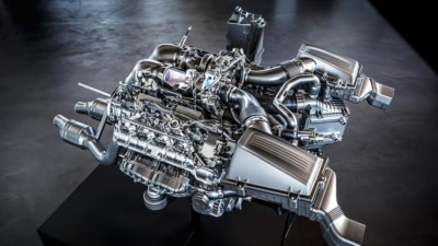 AMG Details Hot New Turbo V8
