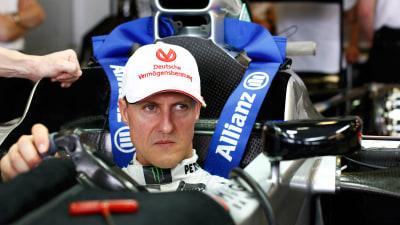 F1: Schumacher Surprised By Mercedes Form, Lotus Waiting On Raikkonen