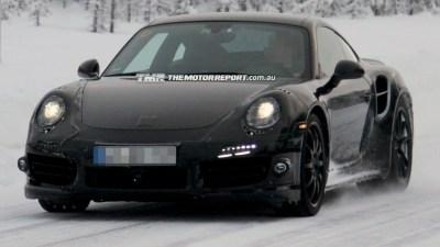 2014 Porsche 911 Turbo Spied