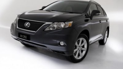 2009 Lexus RX 350 To Debut At MIMS