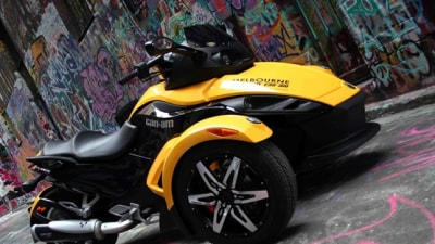2009 Can-Am Spyder: Want A Ride?