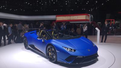 Lamborghini Huracan Performante Spyder revealed
