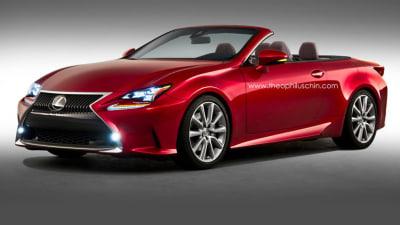 Lexus RC Convertible Rendered