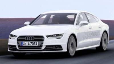 Audi A7 h-tron quattro first drive review