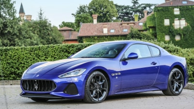 Maserati GranCabrio and GranTurismo Updated