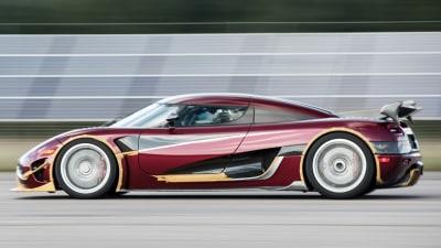 Koenigsegg Breaks Bugatti's Speed Record