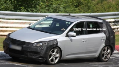 2010 Kia Cee'd Facelift Spotted On The 'Ring