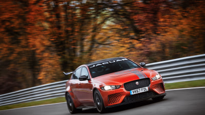 Jaguar claims Nurburgring record