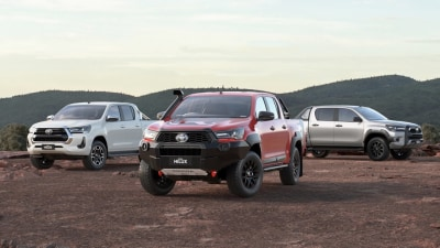 Toyota Hilux thefts more than double, Holden Commodore thefts halve, as stolen exports increase