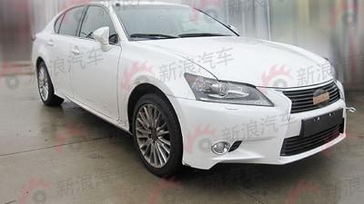 2012 Lexus GS 350 Spied In Production Trim