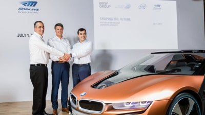 BMW, Intel, and Mobileye   Fully Autonomous Vehicle In Production By 2021?