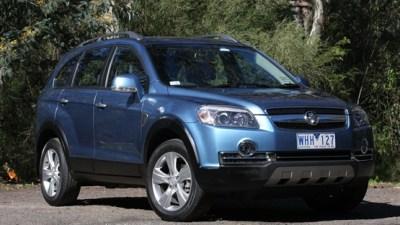 2010 Holden Captiva 5: The Five-Seater Returns To The Captiva Range In December