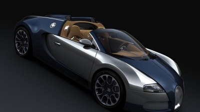 Bugatti Veyron Grand Sport Sang Bleu Unveiled At Pebble Beach Concours d'Elegance