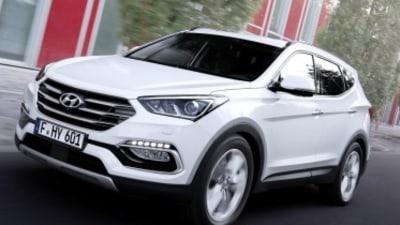 Hyundai updates Santa Fe