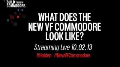 2013 Holden VF Commodore Unveiling: Watch It Live Here